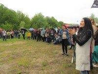 Як учасники колективів «Єлькен» , «ATESH» та «Сельсебіль» відвідали столицю.